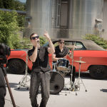 Chainbrake - Making of White Trash Millionaire - Foto: Mirjam Fortuna